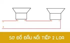 cách đấu loa thùng